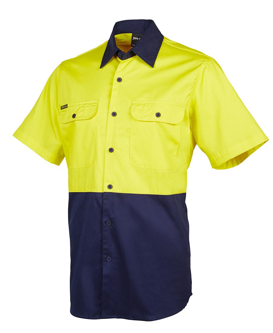Jb S Hi Vis Short Sleeve 150g Shirt Southern Monograms