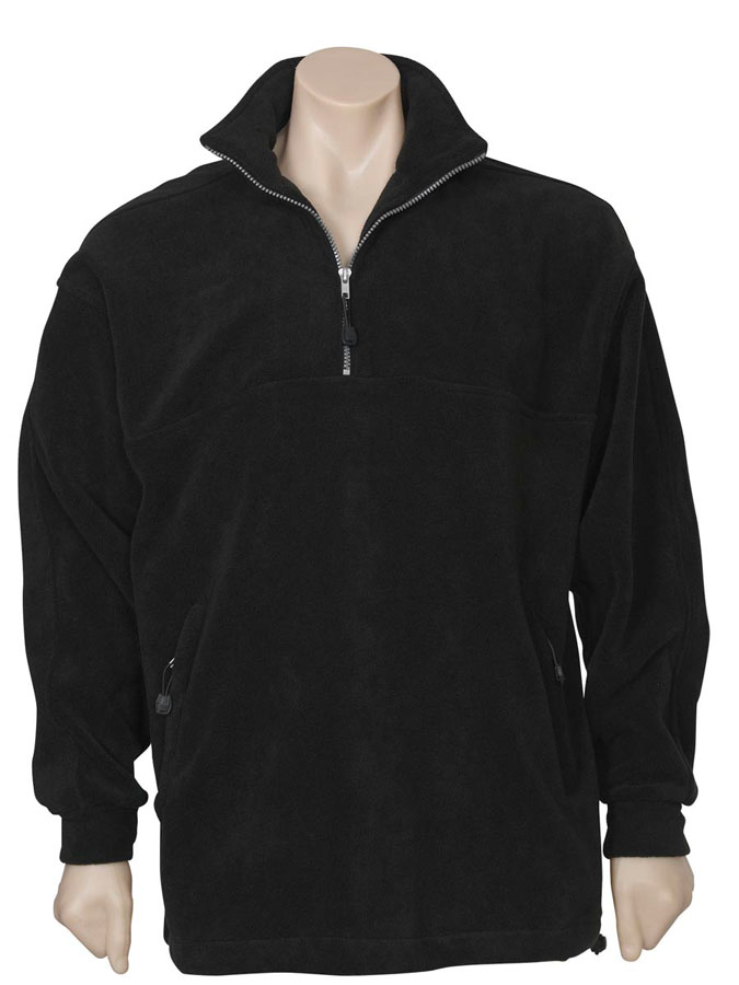Heavy Weight ½ Zip Poly Fleece Top