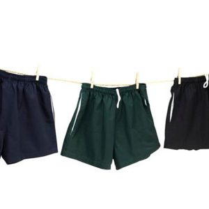Cotton Drill Shorts with Pockets