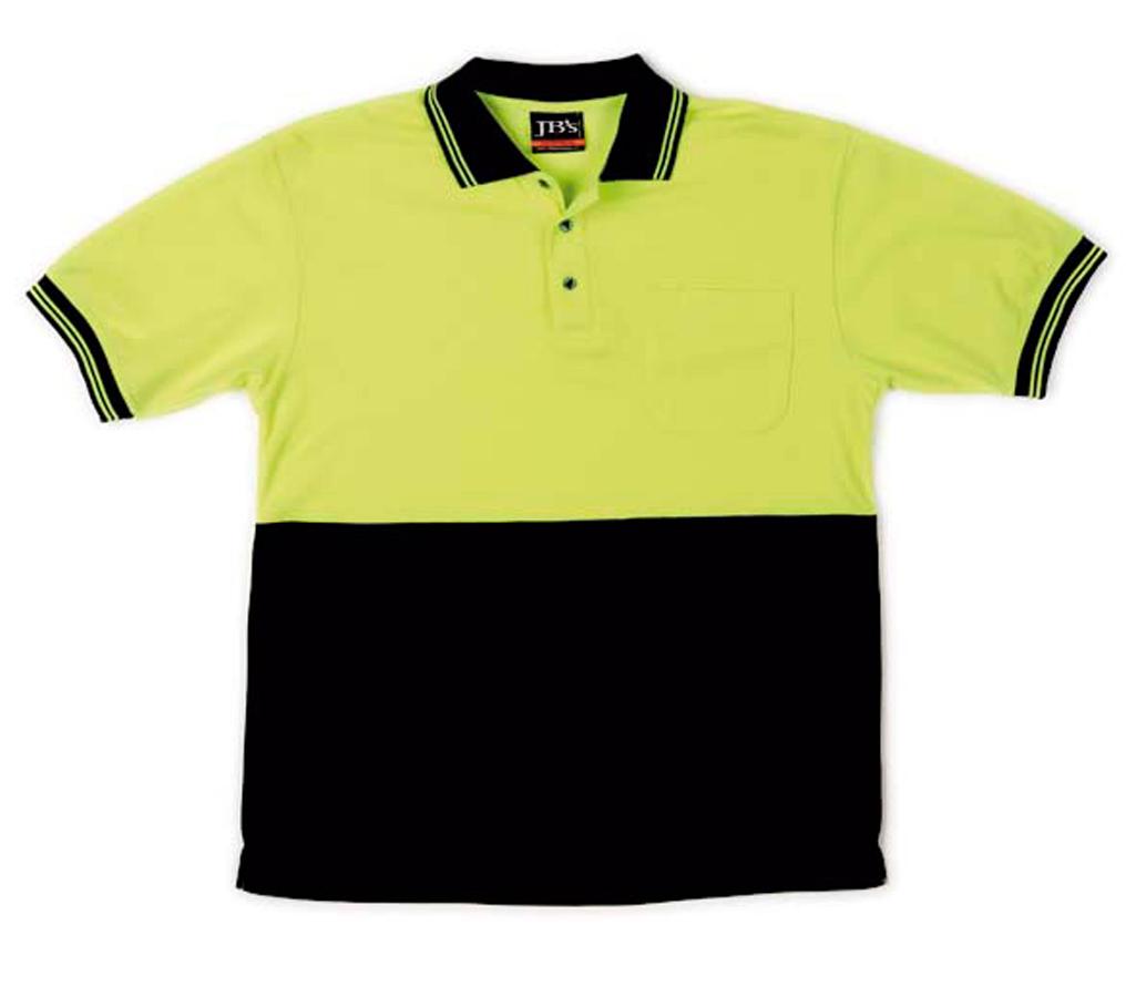 JB's Hi Vis Short Sleeve Trad Polo