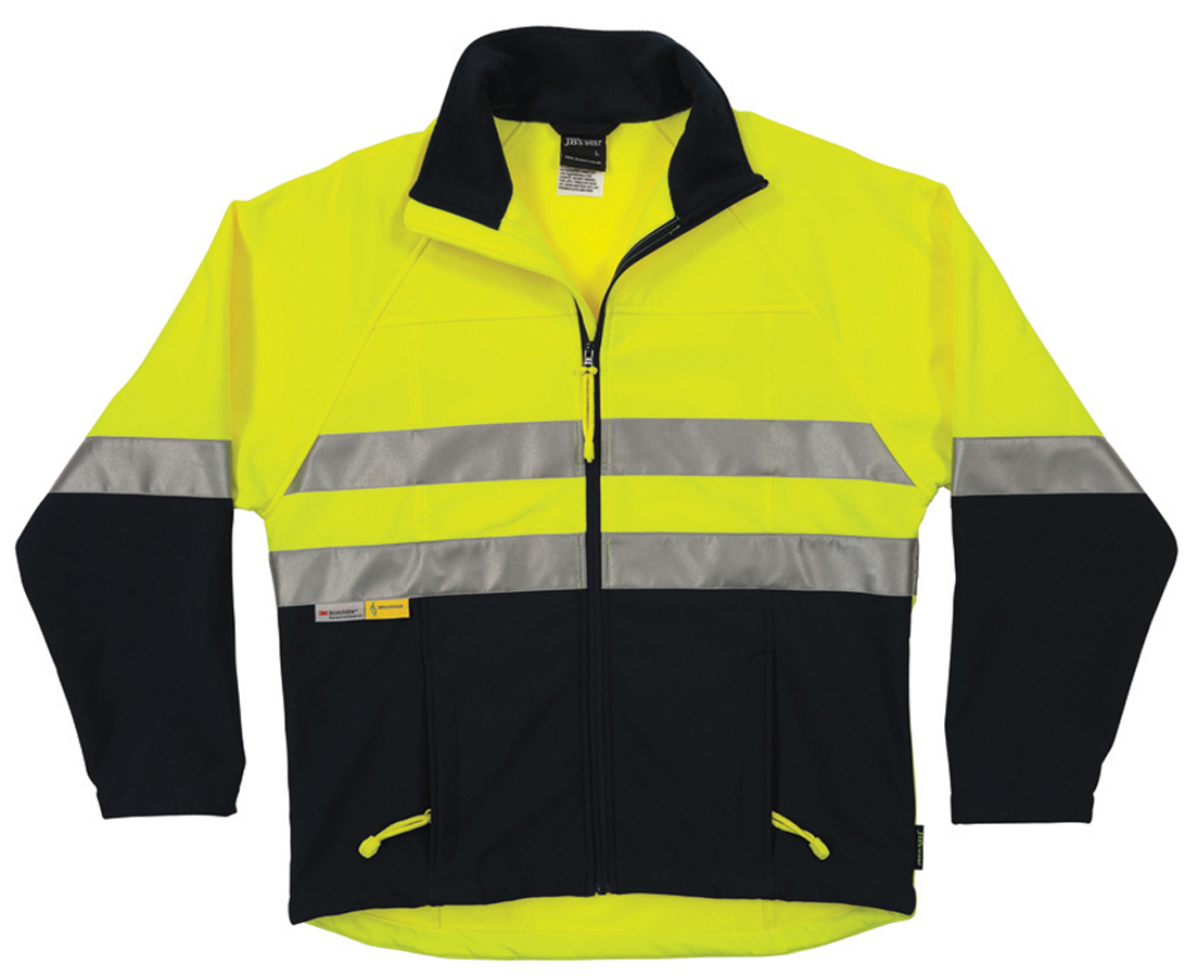 JB's Hi Vis (D+N) Layer Jacket
