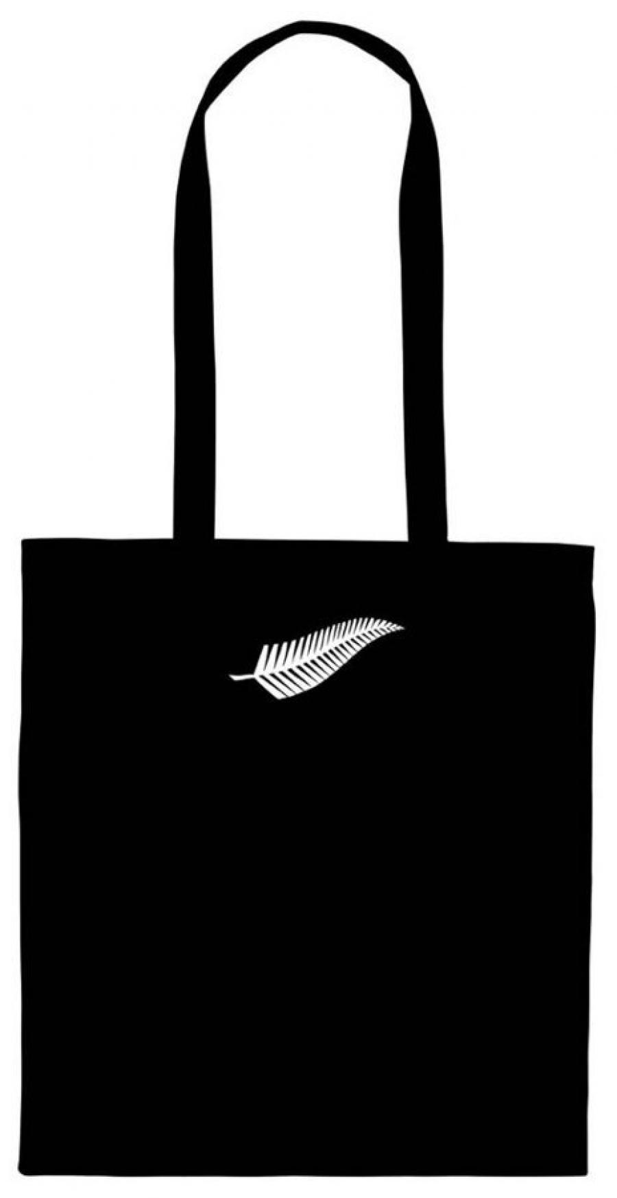 Silver Fern Calico Bag