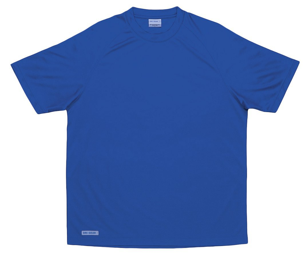 Dri Gear Mens Plain Raglan Tee