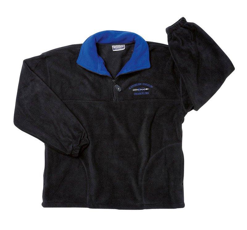 Youth Contrast 1/2 Zip Fleece Pullover