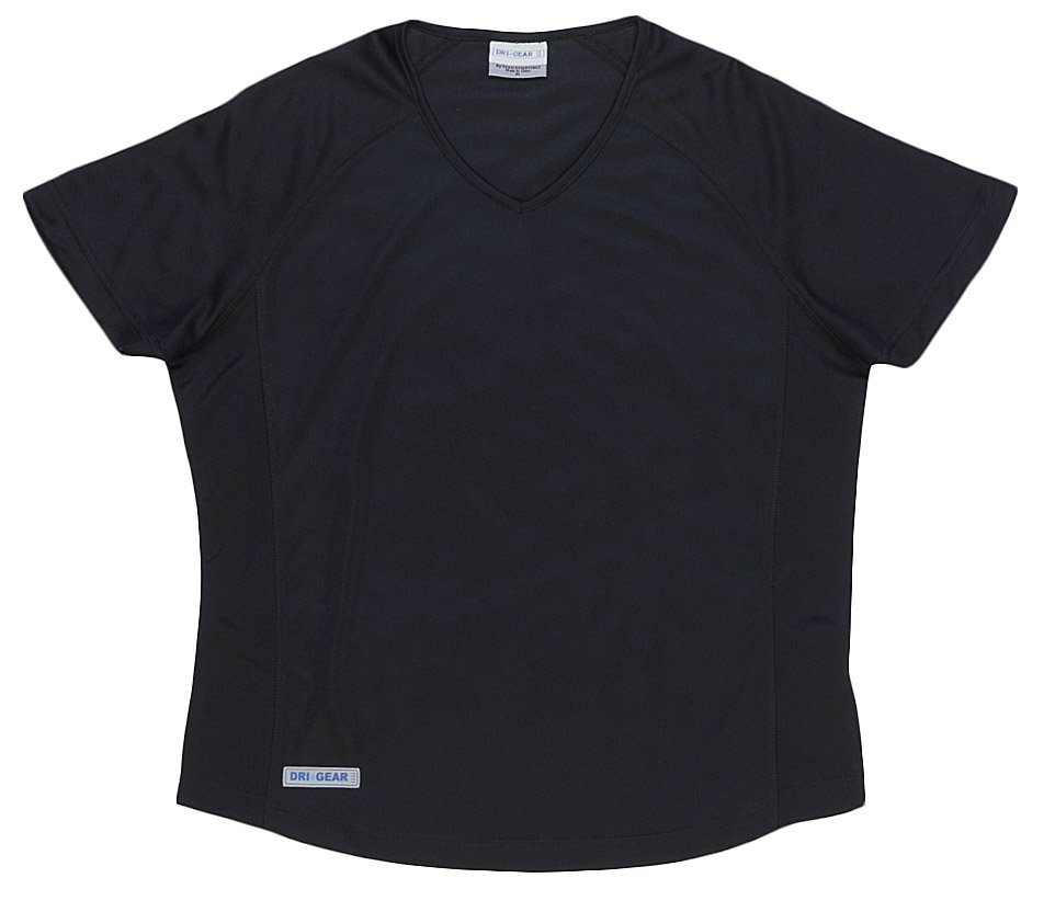 Dri Gear Womens Plain Raglan Tee
