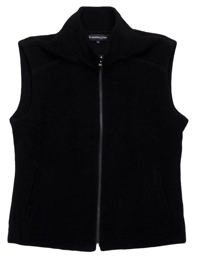Womens Melton Wool Vest