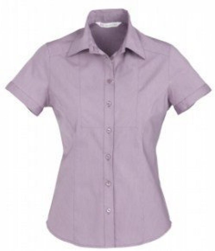 Chevron Ladies Short Sleeve Shirt