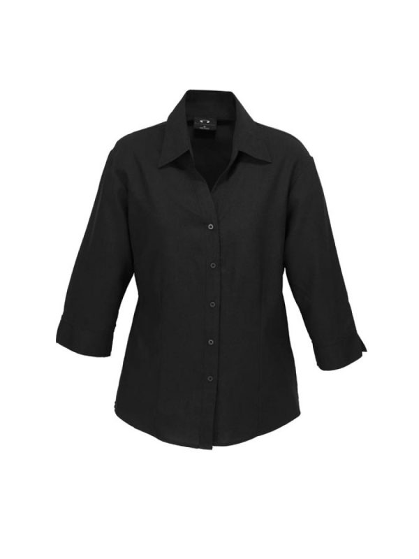 Ladies ¾ Sleeve Plain Oasis Shirt