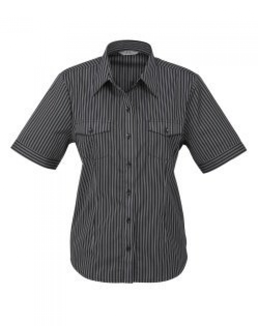 Ladies Cuban Shirts - Short Sleeve