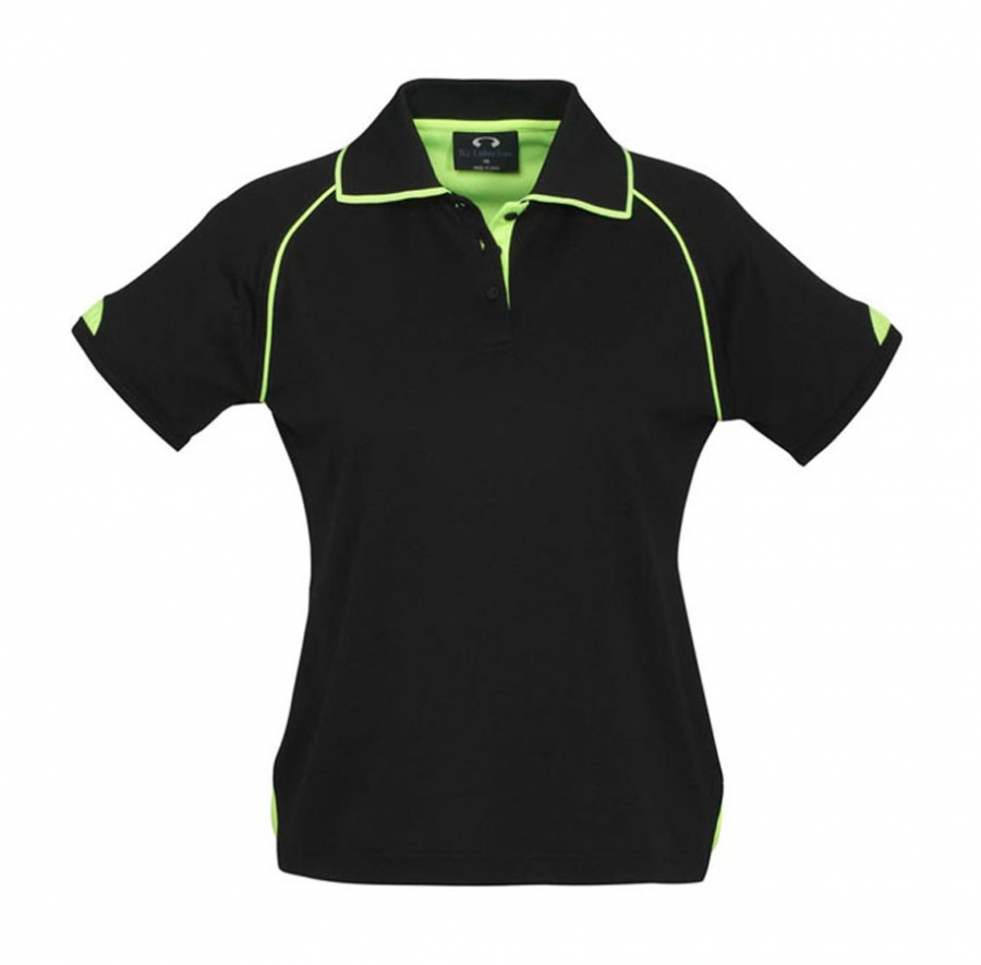 Ladies Fusion Cotton Backed Polo