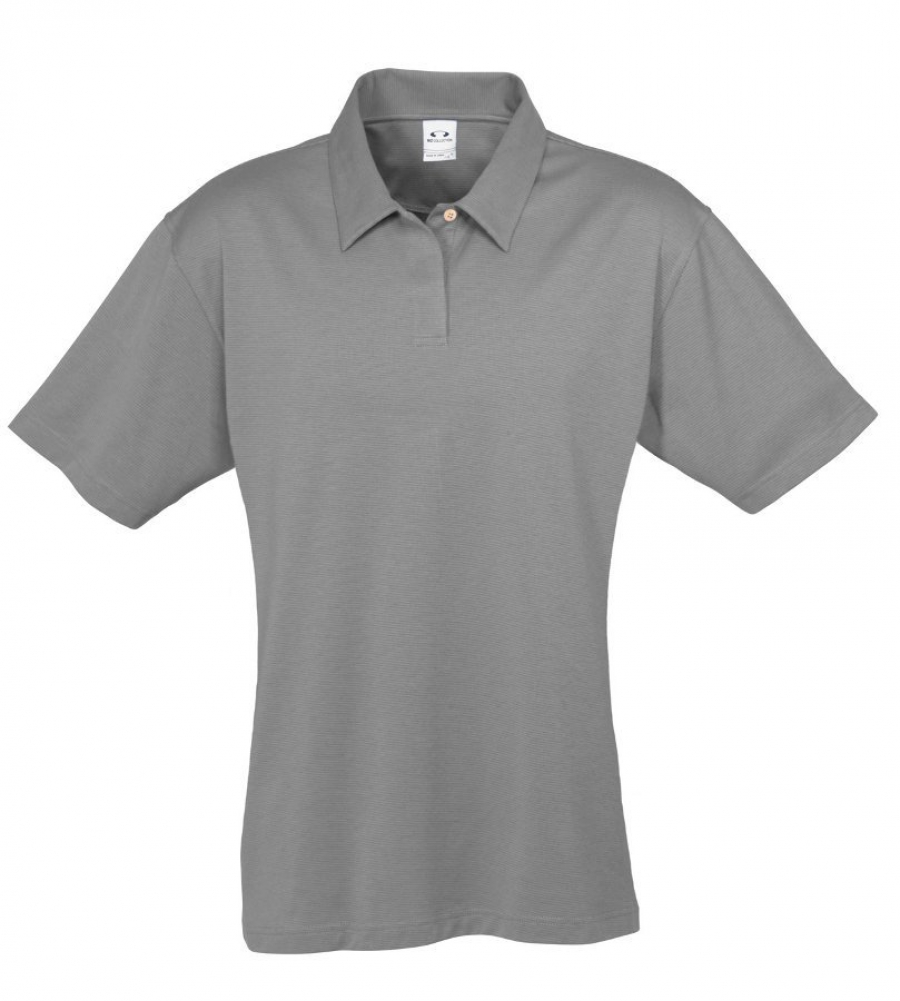 eco polo Eco performance piqué female polo permanent moisture-wicking fabric with antimicrobial and uv protection performance v-neckline with self-fabric piping along placket.
