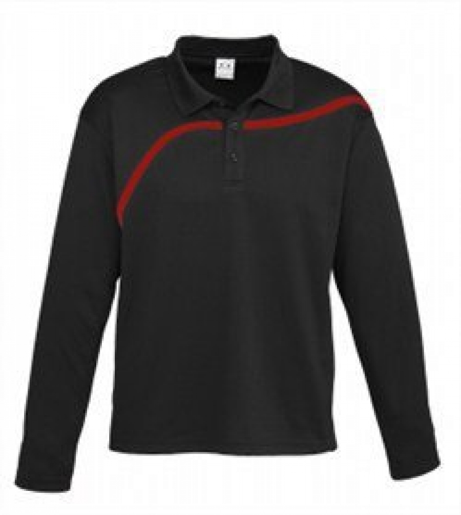 Mens Hero Long Sleeve Polo