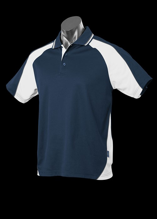Panorama Mens Cotton Backed Polo