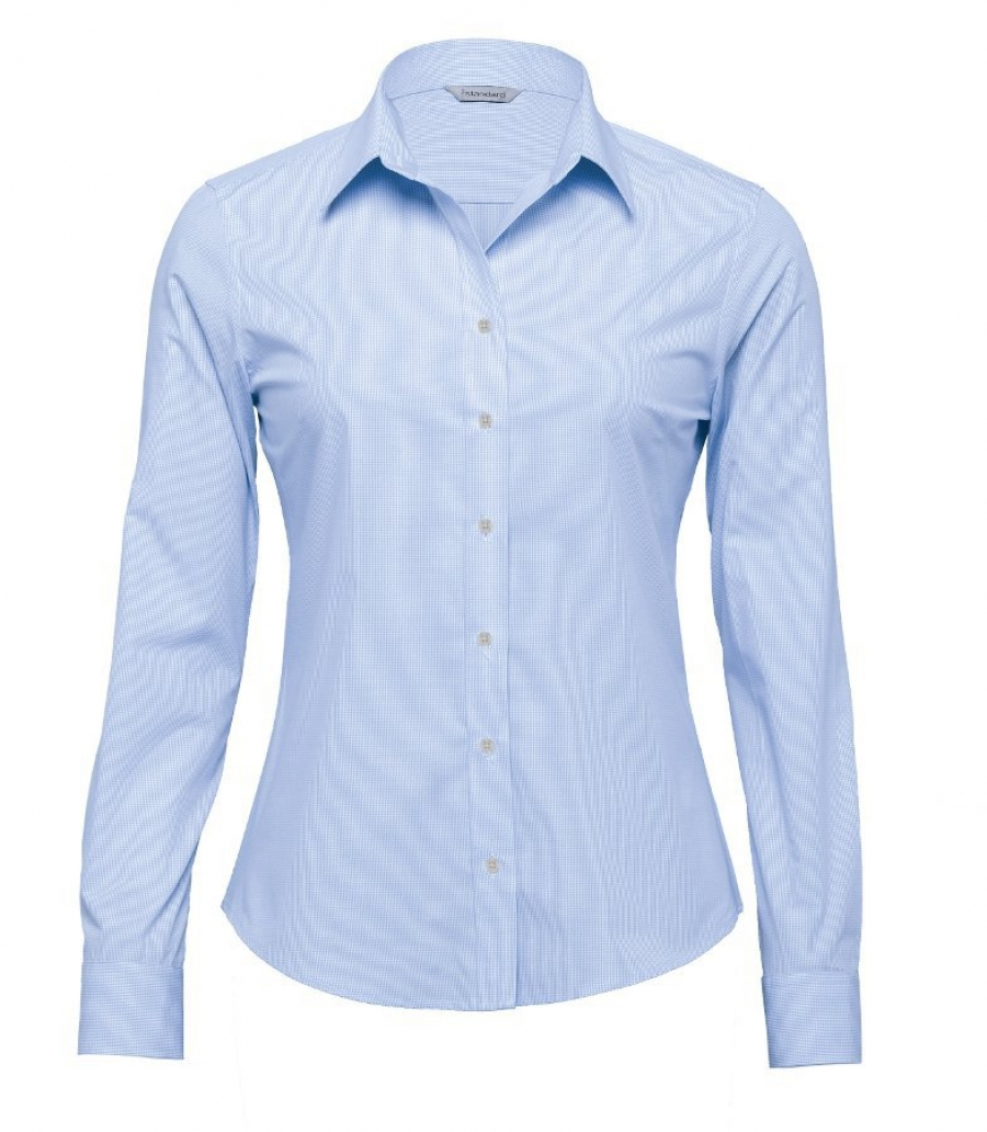the broadway check shirt - womens