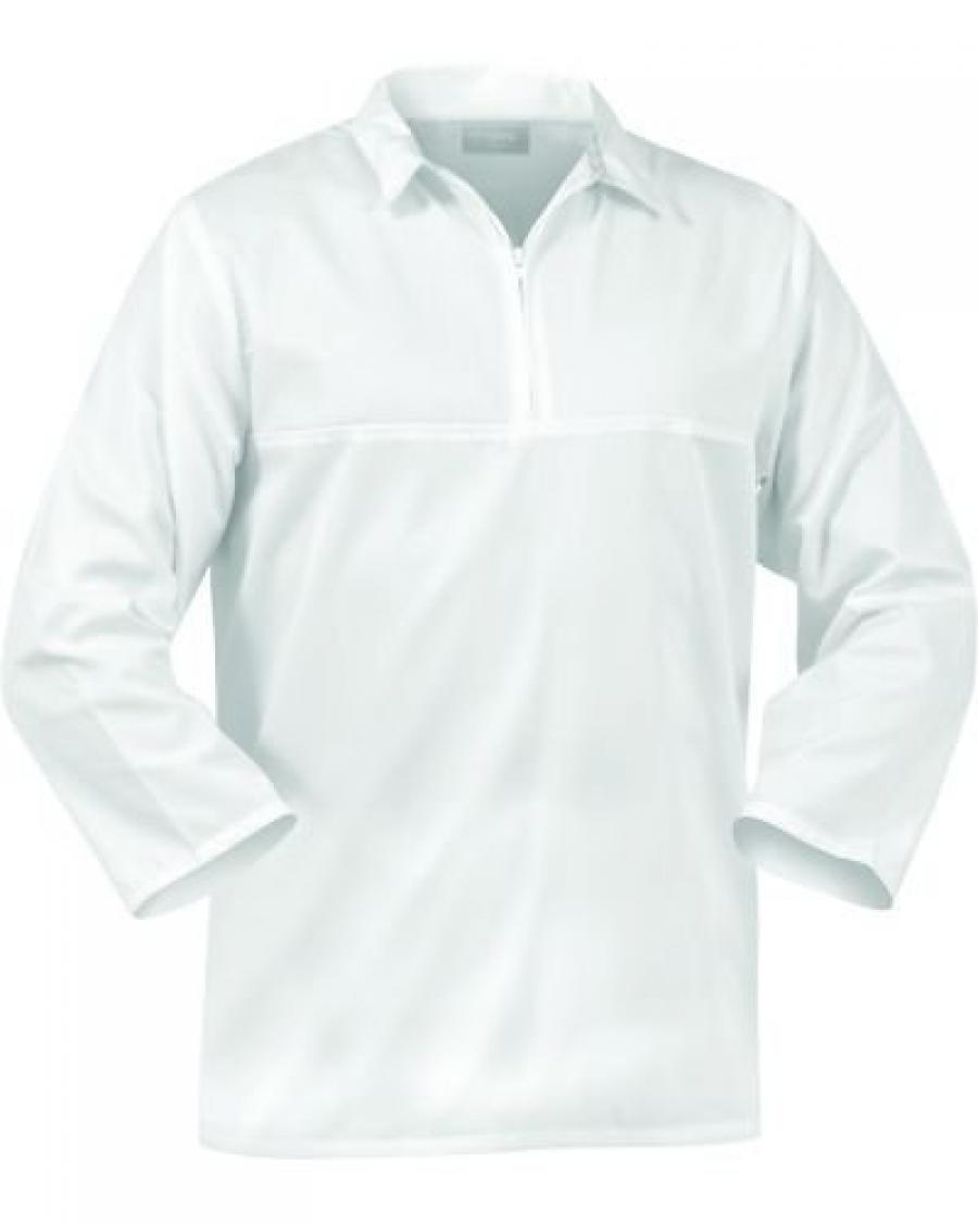 Turu Pure Jerkin Nylon Zip Cotton Long Sleeve