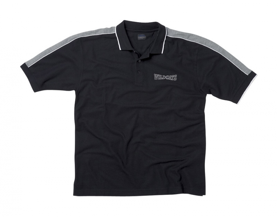 Youth Shoulder Stripe Polo