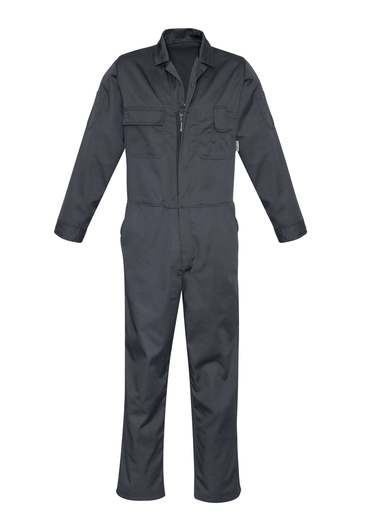 Syzmik Service Poly Cotton Zip Overall