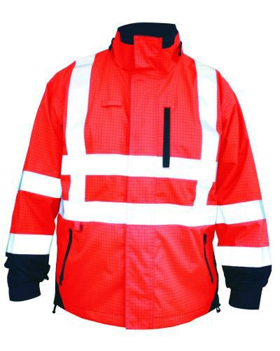 Bison Rigour Anti-Static Fire Retardant Two Tone Jacket