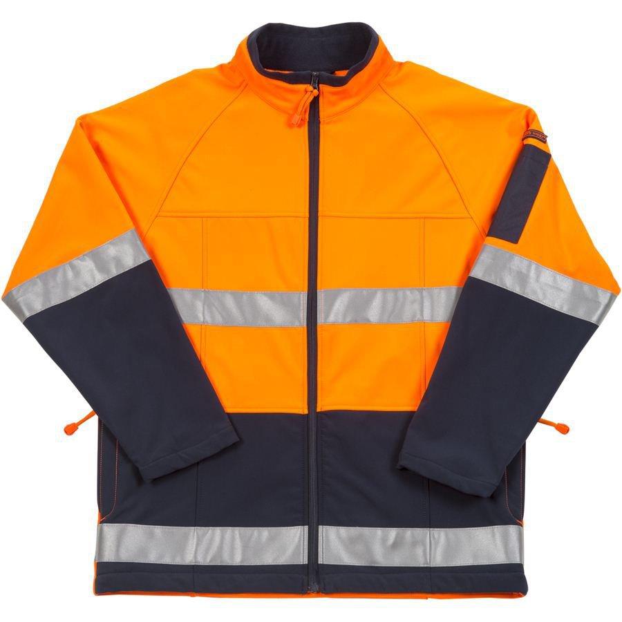 Hi Vis (D+N) Layer Jacket