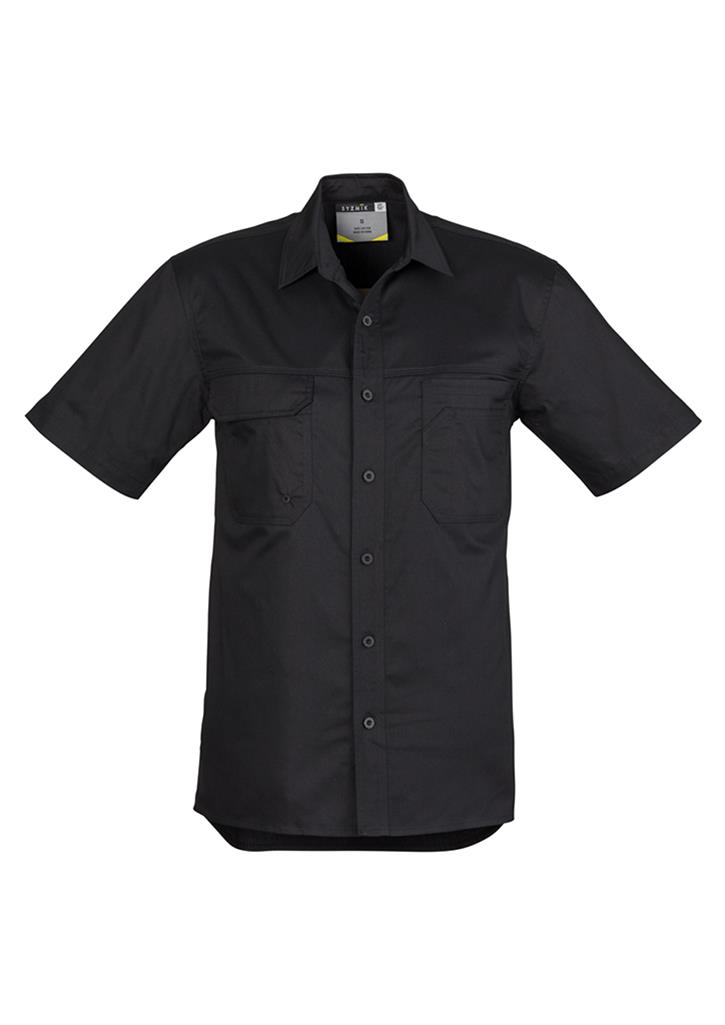 Syzmic Light Weight Tradie Shirt Short Sleeve