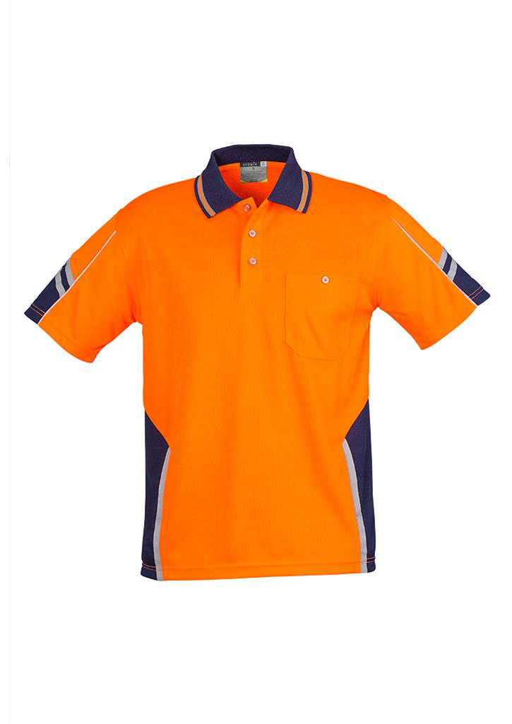 Syzmic Squad Polo Short Sleeve