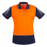 Womens Syzmic Zone Polo Short Sleeve