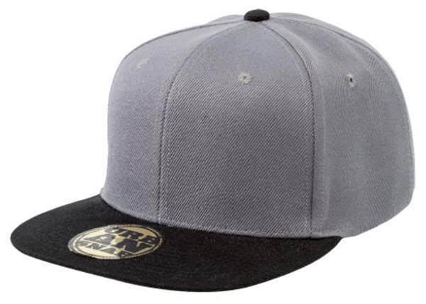 Promo 4373 Snap Back Cap 4373 Charcoal Black