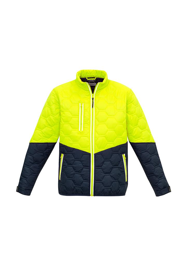 Unisex Hexagonal Puffer Jacket Biz ZJ420