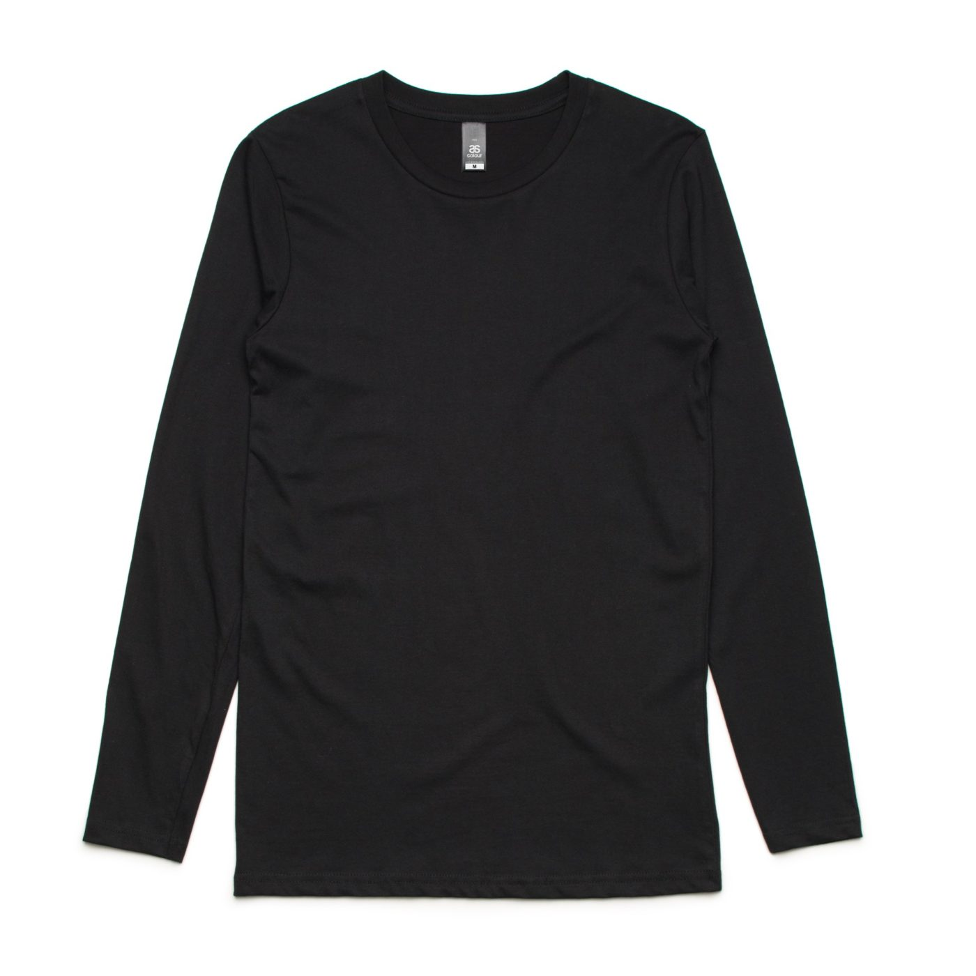 AS 5009 ink Long Sleeve tee print black
