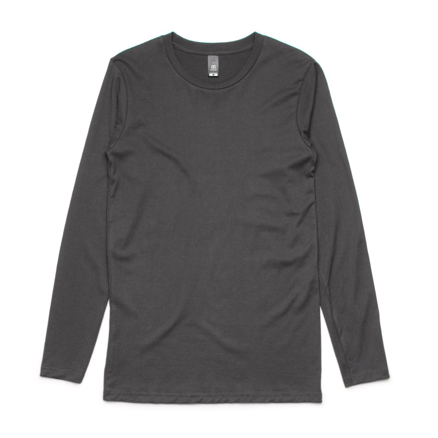 AS 5009 ink Long Sleeve tee print charcoal