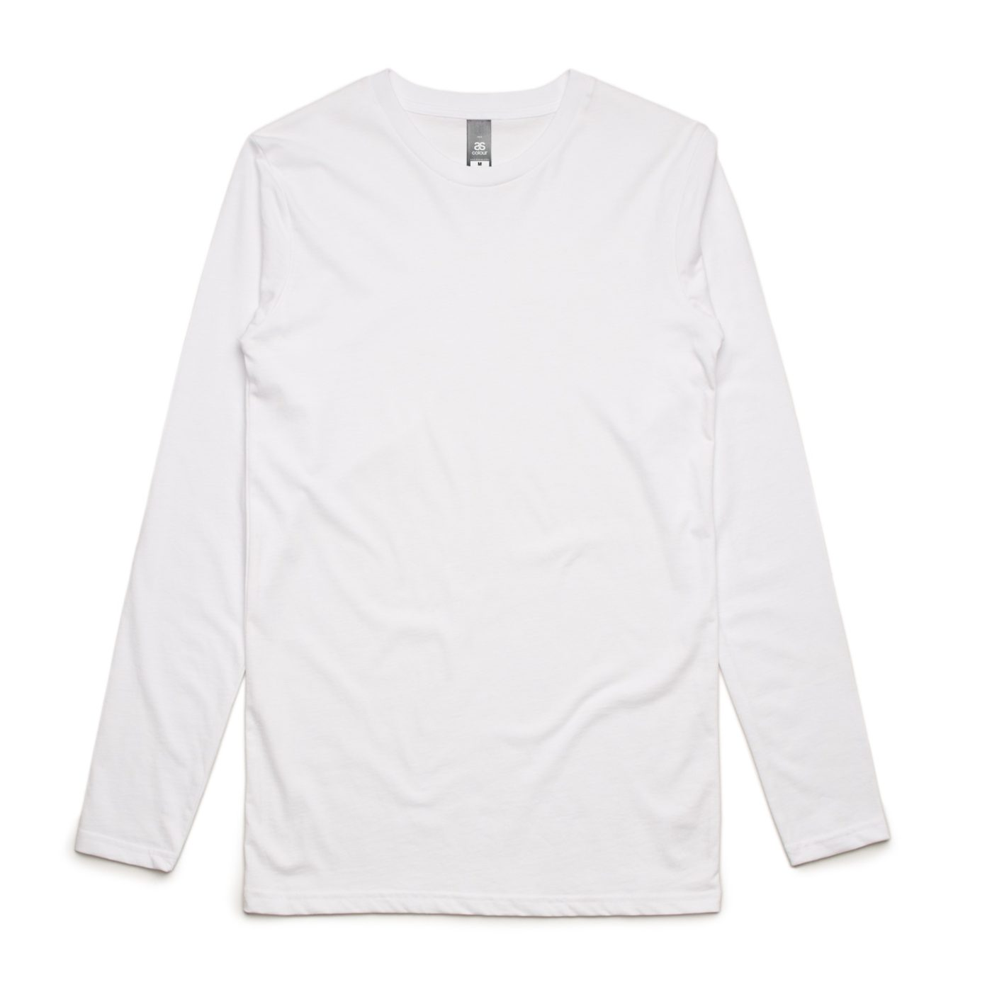 AS 5009 ink Long Sleeve tee print White