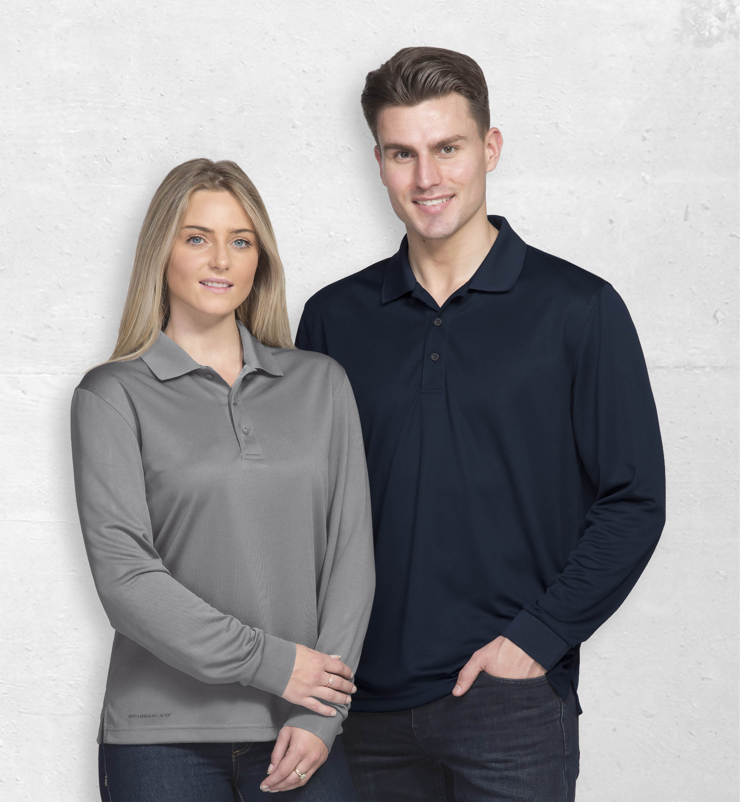 DGAXP Long Sleeve polo