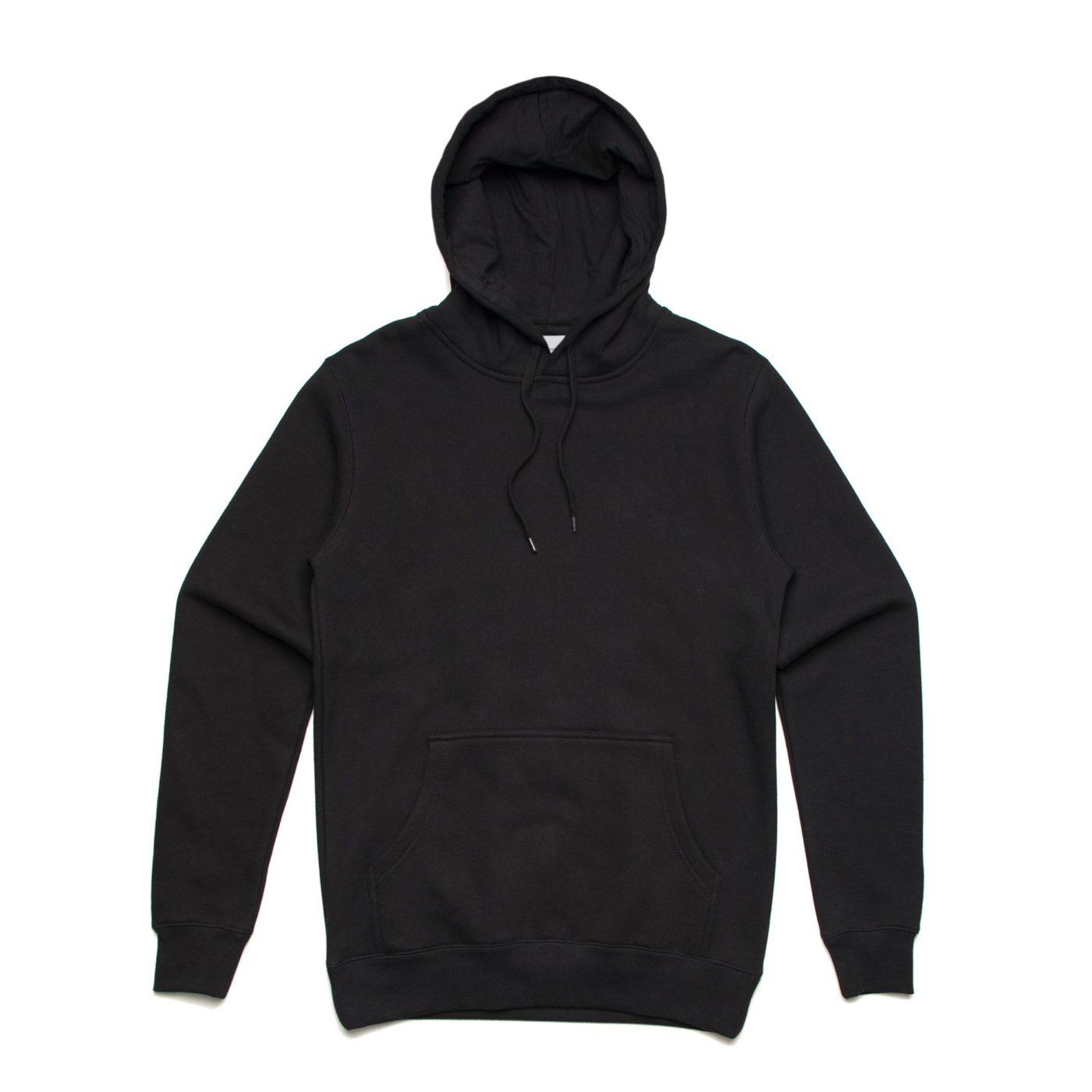 As Colour Stencil Hoodie 5102 Black