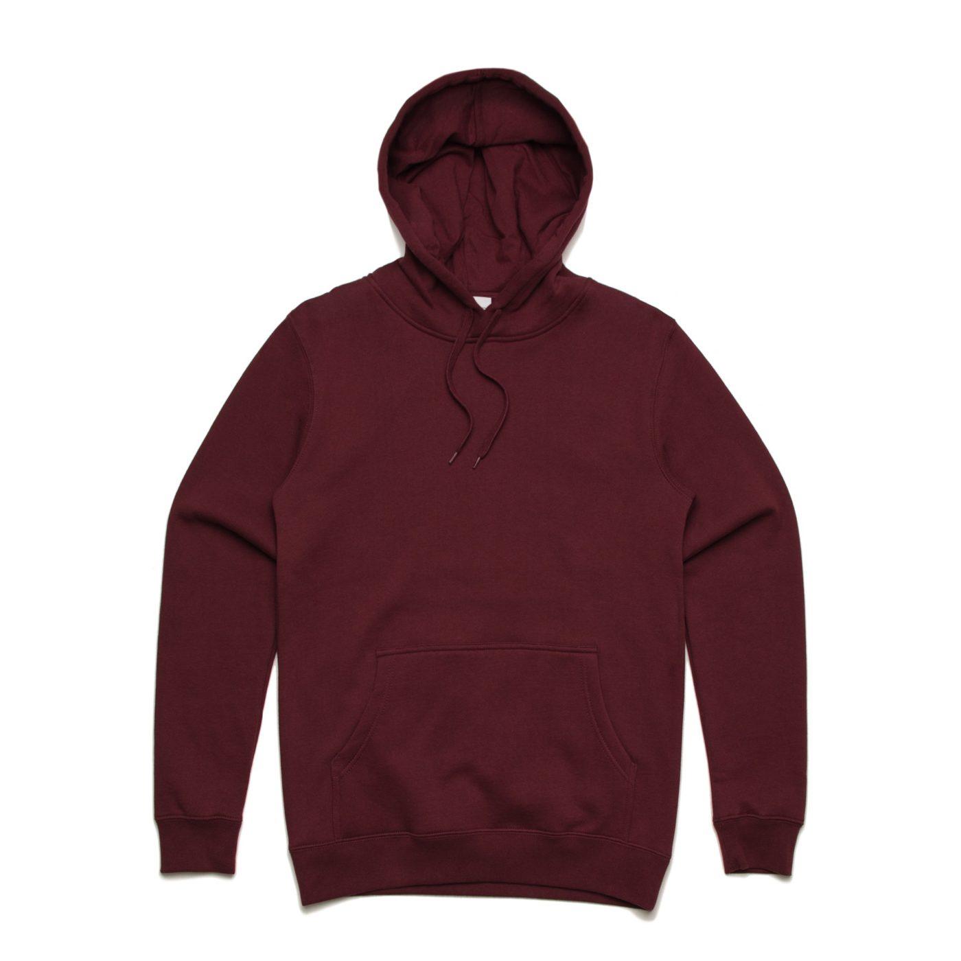 As Colour Stencil Hoodie 5102 Burgundy