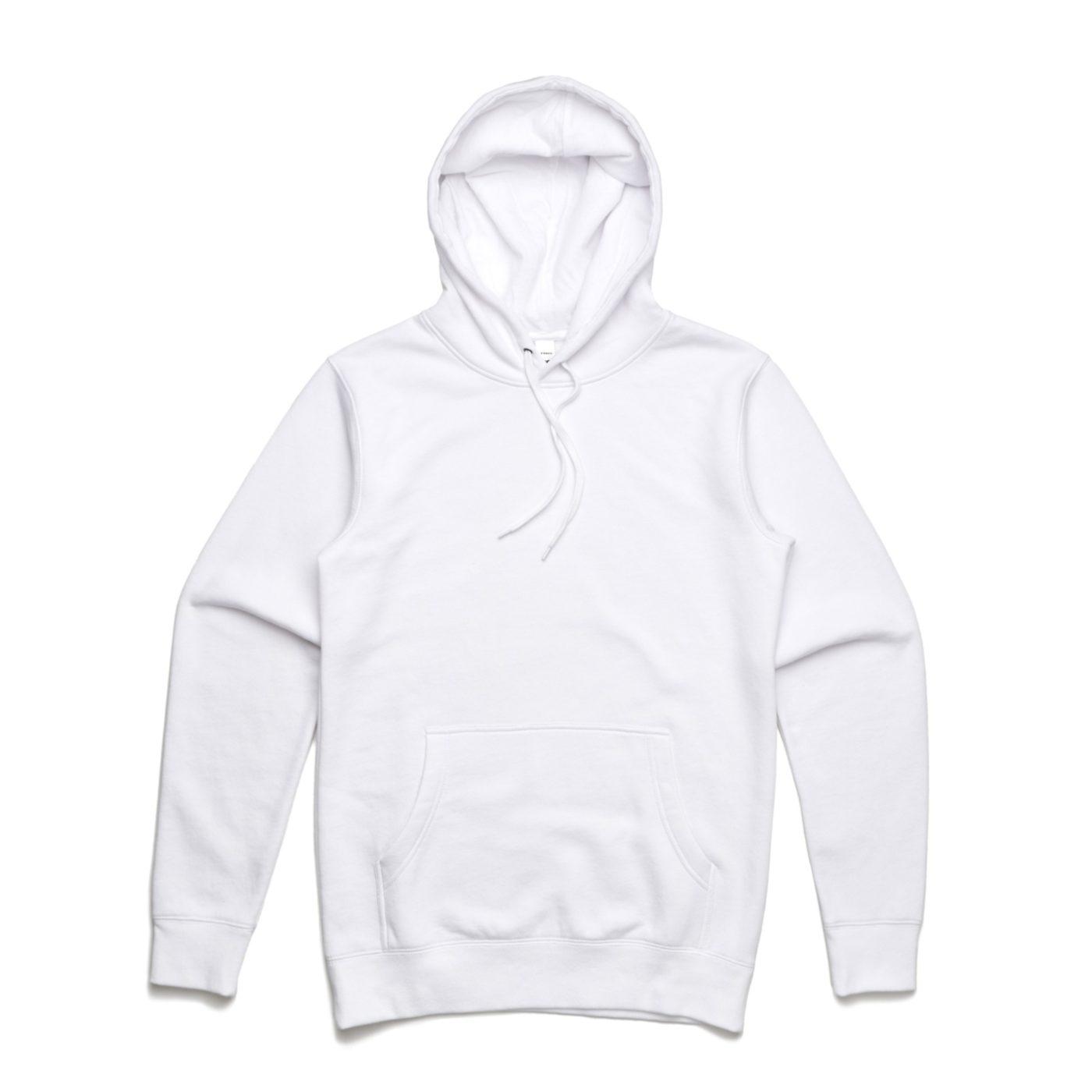 As Colour Stencil Hoodie 5102 White