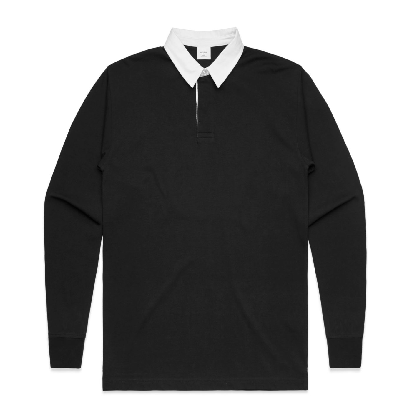 L/S Rugby jersey AS Colour black
