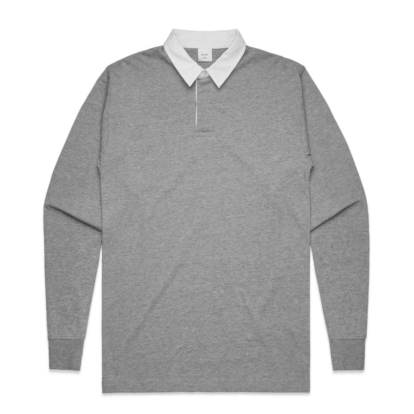 L/S Rugby jersey AS Colour Grey Marle