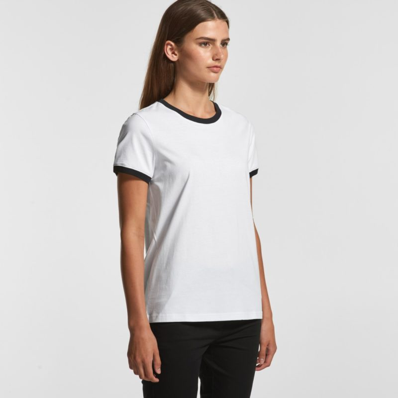 AS Colour Ringer Ladies Fashion Tee