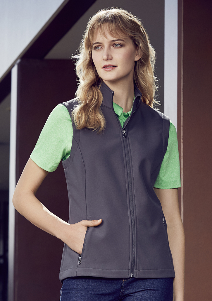Apex Womens softshell Vest uniform