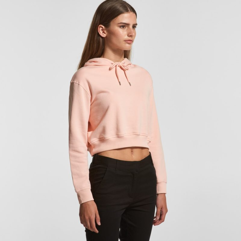 AS Colour Womens Crop Top Hoodie