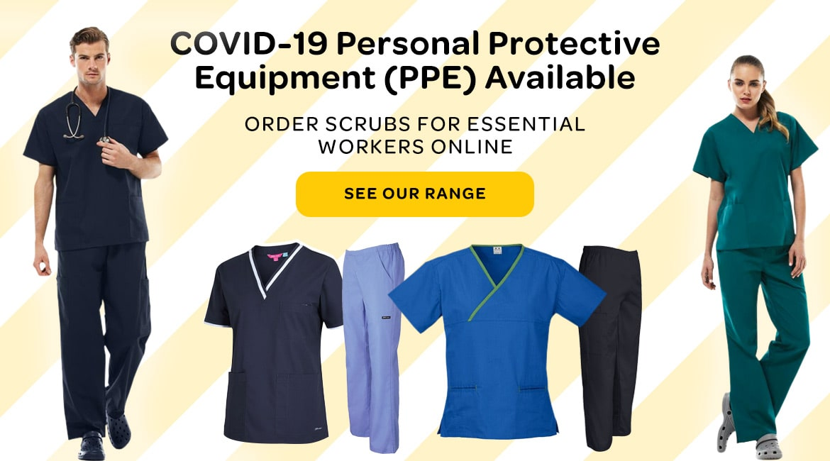 Covid-19 PPE scrubs available