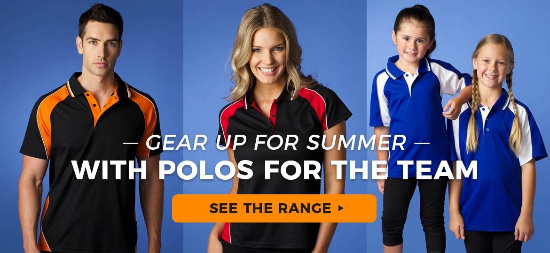 Buy custom polo shirts this NZ summer