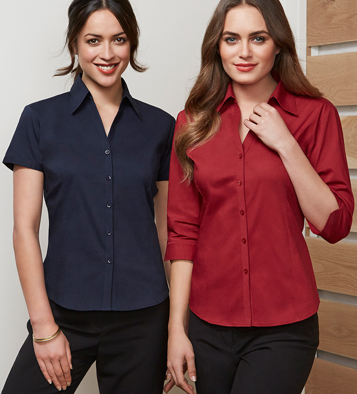 3/4 sleeve ladies shirt