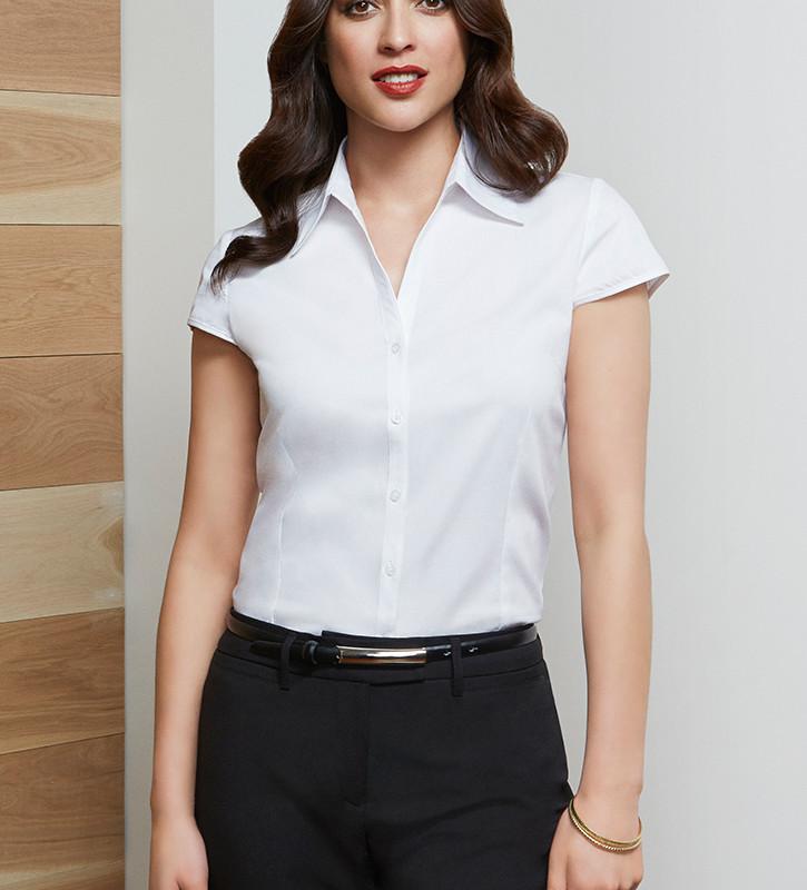 Cap Sleeve ladies shirt